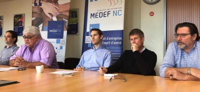 juillet 2019 Conférence de presse MEDEF NC